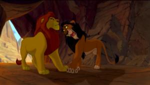 Mufasa and Scar
