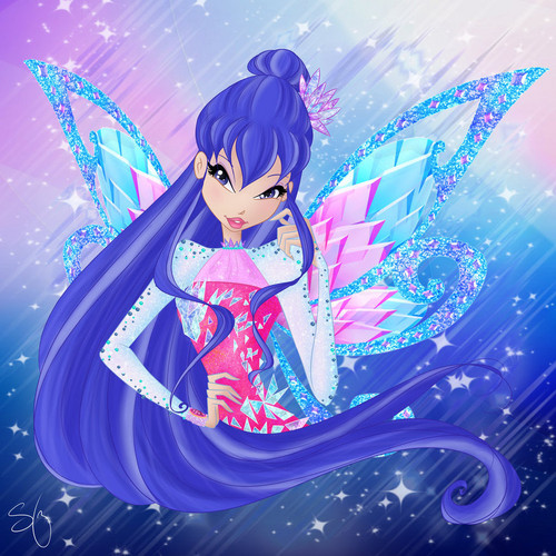 The Winx Club kertas dinding called Musa Tynix
