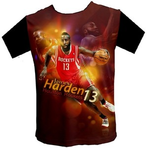 NBA Houston Rockets James Harden short sleeves t-shirt