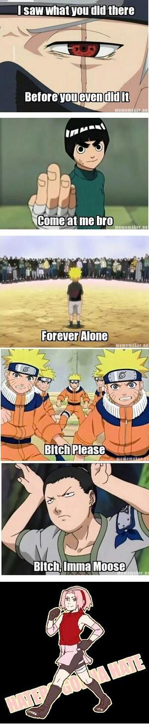 Naruto in Memes