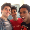 Nat, Alex and Qassim - the-naked-brothers-band photo