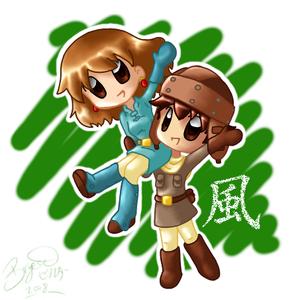 Nausicaä and Asbel