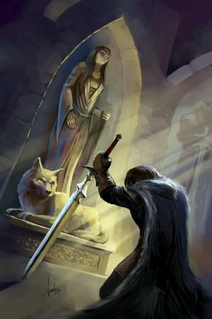 Ned Stark-Lyanna Stark tomb