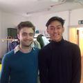 New: Daniel Radcliffe with a fan (Fb.com/DanielJacobRadcliffeFanClub) - daniel-radcliffe photo