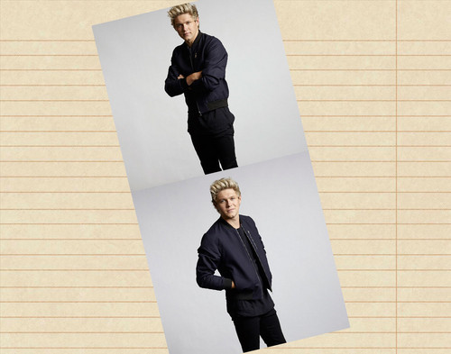 One Direction wallpaper containing a business suit, a well dressed person, and a suit titled Niall Horan
