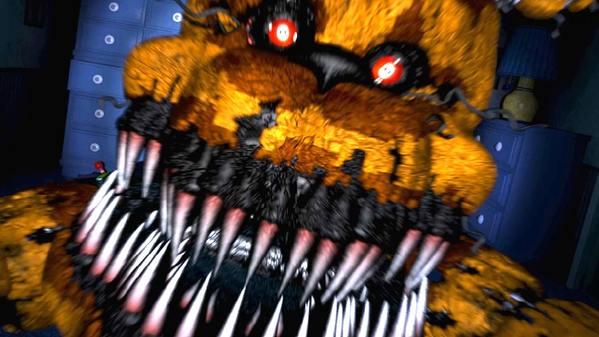 Five nights at freddy s images nightmare fredbear hd wallpaper and