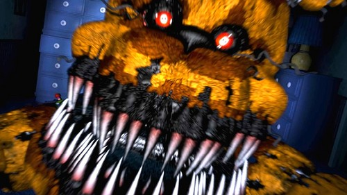 Five Nights at Freddy's پیپر وال titled Nightmare fredbear