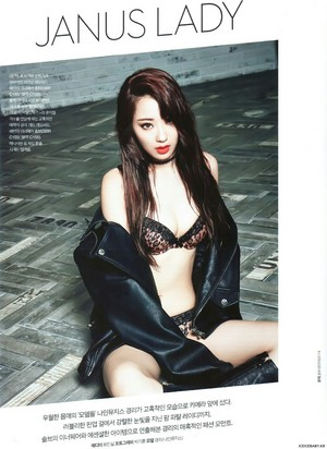 Nine Muses Kyungri for The Celebrity