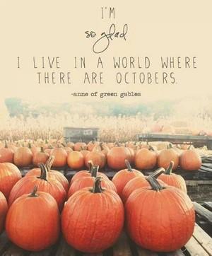 Octobers ♥