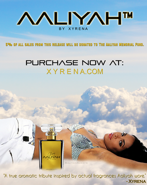 Official Aaliyah Tribute Fragrance kwa Xyrena! ♥