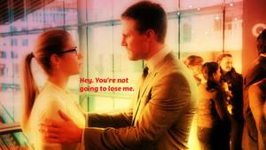Oliver and Felicity Hintergrund