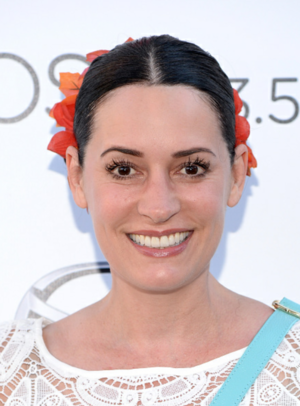 Paget Brewster at the 2015 Festival Of Arts Celebrity Benefit