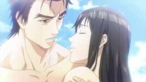 Parasyte-The Maxim_Sexy Moments (Shin'ichi and Kana, the Dream)