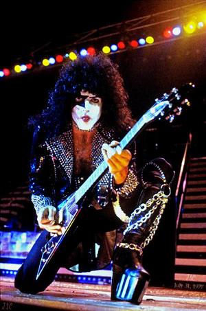 Paul ~Calgary, Alberta, Canada…July 31, 1977 (Love Gun Tour-Corral Arena)