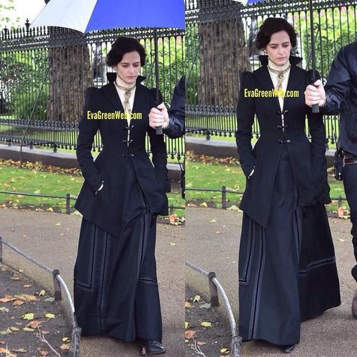 penny dreadful fondo de pantalla with a business suit and a well dressed person called Penny Dreadful - Season 3 - Set fotos