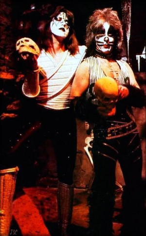 Peter and Ace ~Valencia, California…May 1978 (KISS Meets The Phantom of the Park/Magic Mountain Am
