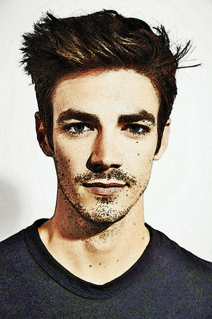 Foto to Painting Grant Gustin