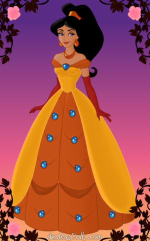 Princess hasmin Very Fancy Ballgown