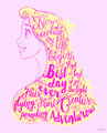 Rapunzel Typography - tangled photo