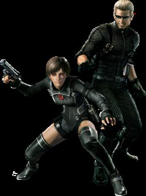 Resident Evil 0 HD Render