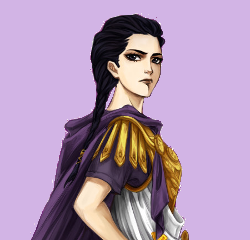 The Heroes of Olympus achtergrond called Reyna iconen