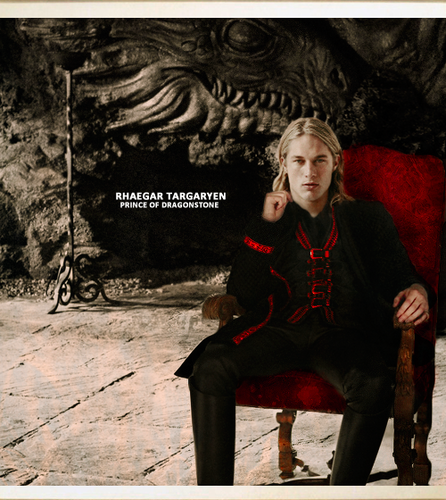 Game of Thrones wallpaper possibly containing a business suit and a concert titled Rhaegar Targaryen