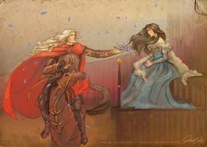 Rheagar and Lyanna