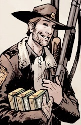 Walking Dead Images Rick Grimes Comic Fond D Ecran And Background