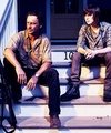 Rick and Carl - the-walking-dead photo