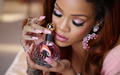 Rihanna for her new fragrance