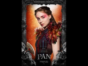 Rooney Mara As Tiger Lily In Pan 2015