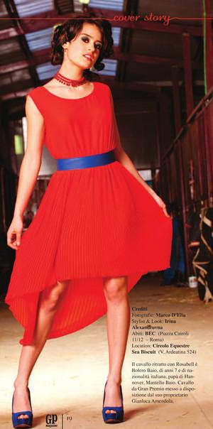 Rosabell Laurenti Sellers GP Magazine luglio 2013
