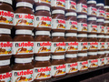 Rows of Nutella - chocolate photo