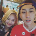 SNSD HYOYEON SELCA 150902 - girls-generation-snsd photo