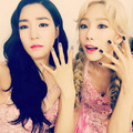 SNSD TIFFANY TAEYEON INSTAGRAM - girls-generation-snsd photo