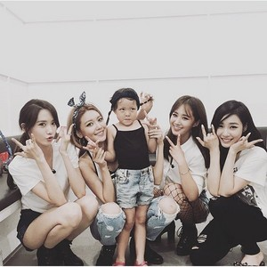 SNSD and Sarang