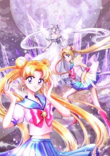 Sailor Moon Crystal fondo de pantalla possibly with anime titled Sailor moon