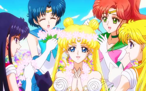 Sailor Moon Crystal fondo de pantalla containing anime titled Sailor moon