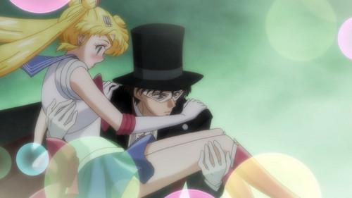 Sailor Moon Crystal fondo de pantalla probably with a fedora entitled Sailor moon
