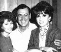 Rock with Claudia Cardinale and Gina Lollobrigida - rock-hudson photo