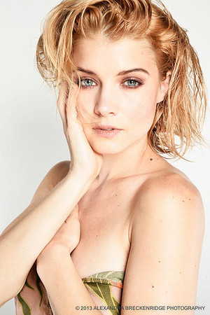 Sarah Jones - Alexandra Breckenridge Photoshoot