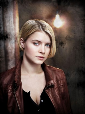 Sarah Jones as Detective Rebecca Madsen in Alcatraz