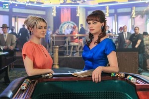 Sarah Jones as Mia Rizzo in Vegas