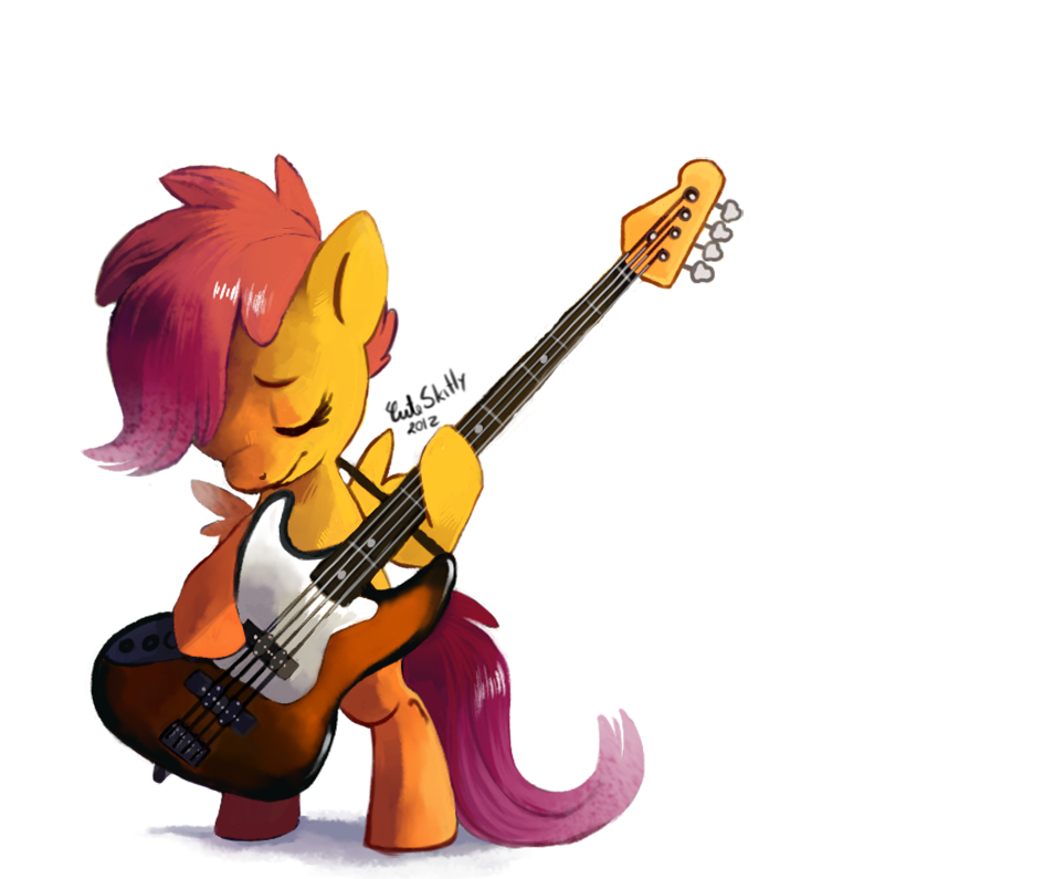 Scootaloo ~guitar