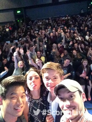Scorch Trials cast