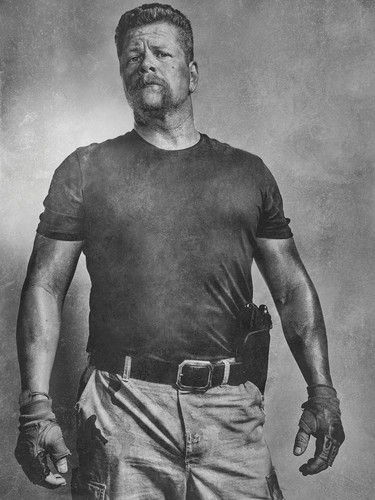 The Walking Dead karatasi la kupamba ukuta called Season 6 Character Portrait ~ Abraham Ford
