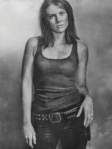 The Walking Dead karatasi la kupamba ukuta called Season 6 Character Portrait ~ Maggie Greene