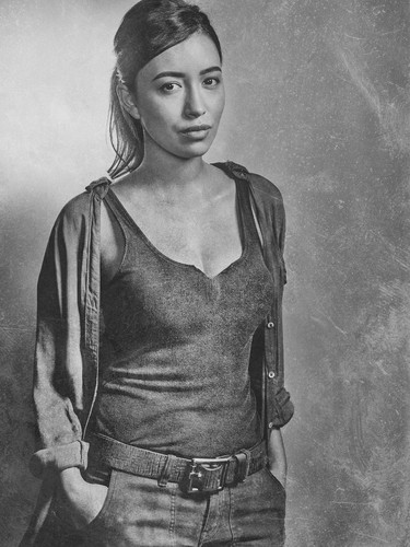 The Walking Dead karatasi la kupamba ukuta called Season 6 Character Portrait ~ Rosita Espinosa