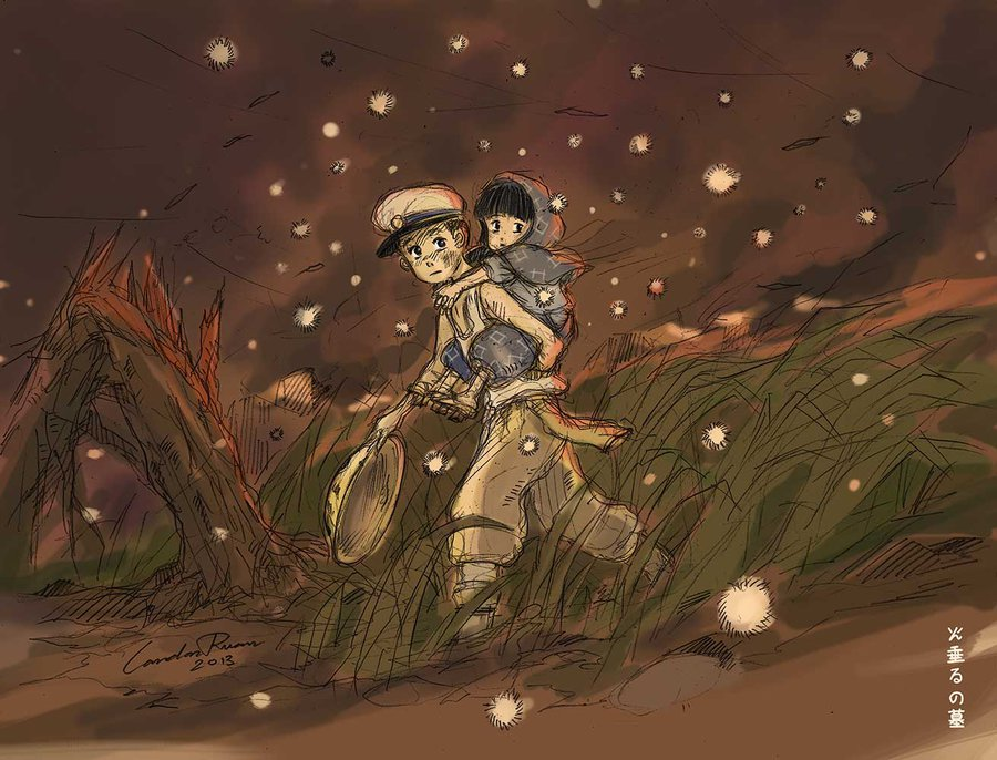 Grave Of The Fireflies Images Seita And Setsuko Hd Wallpaper And