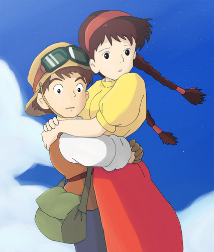 Castle In The Sky Sheeta And Pazu